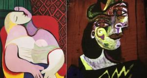 PDT-2018-Les Carrieres de Lumieres-Période cubique-2 portraits-Les Papotis de Thalie